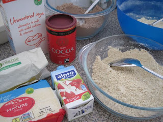 Baking with low carb flours