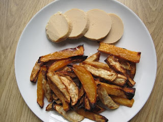 Vegetarian Roast with Swede and Celeriac chips