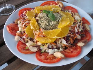 Eating aboard – Salads