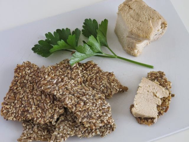 Seed cracker biscuits