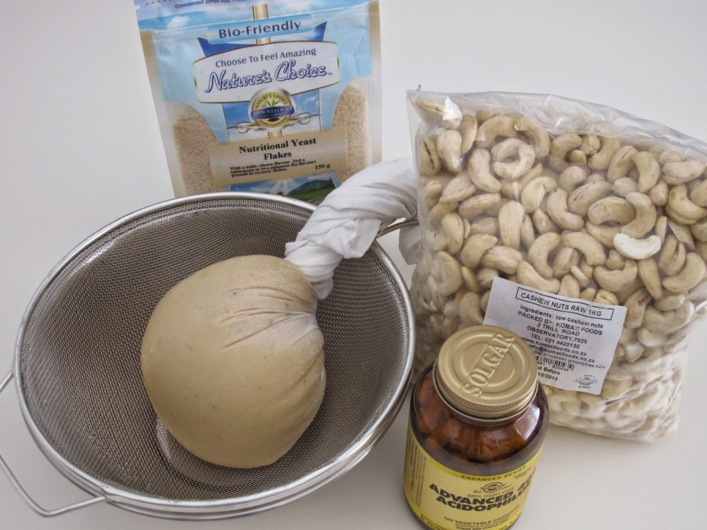 Basic nut cheeze ingredients