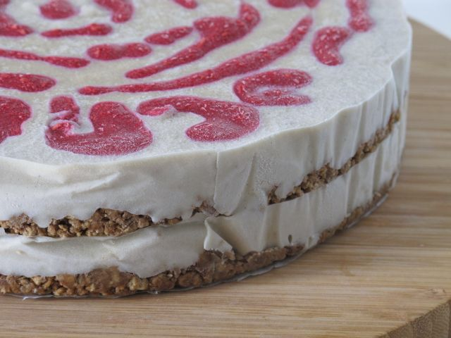 Raspberry cheezecake – Raw and vegan