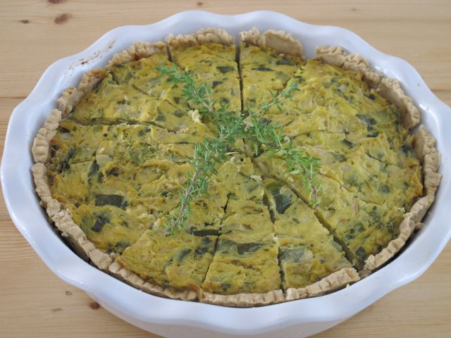 Vegan Quiche