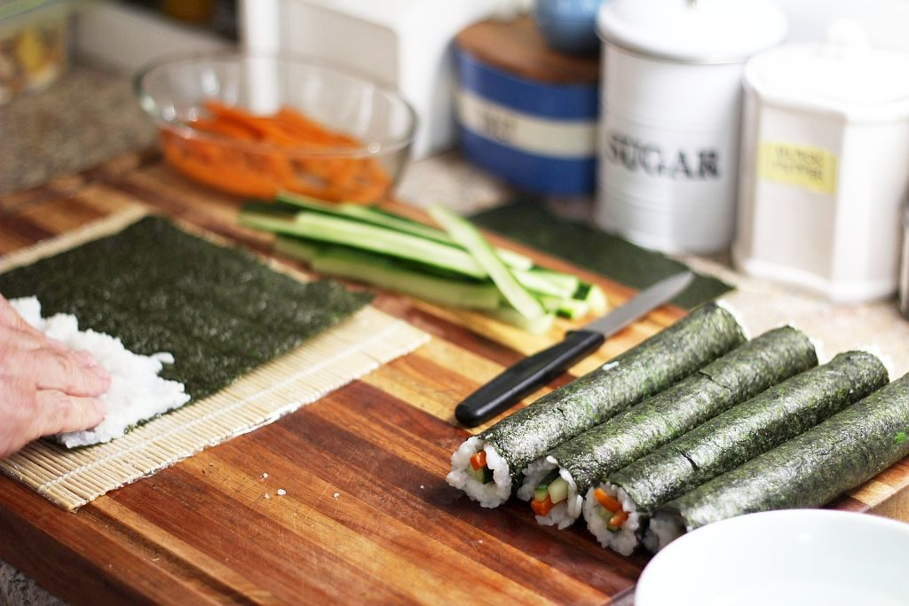 Making Vegan Sushi