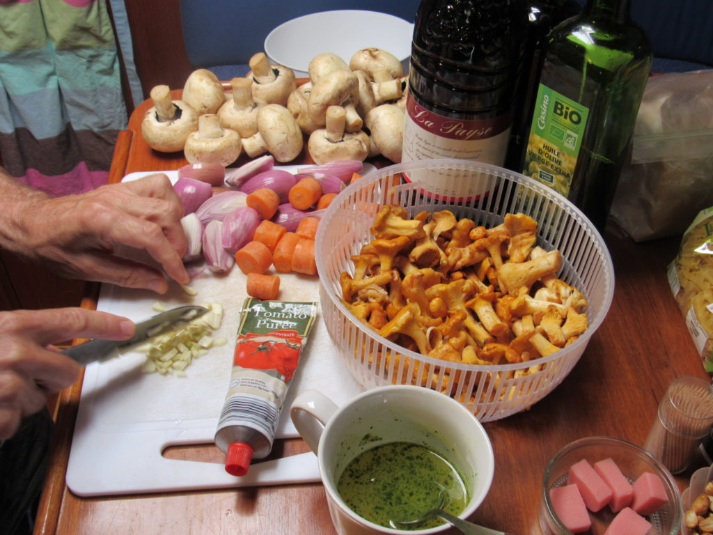 Mushroom Bourguignon Ingredients